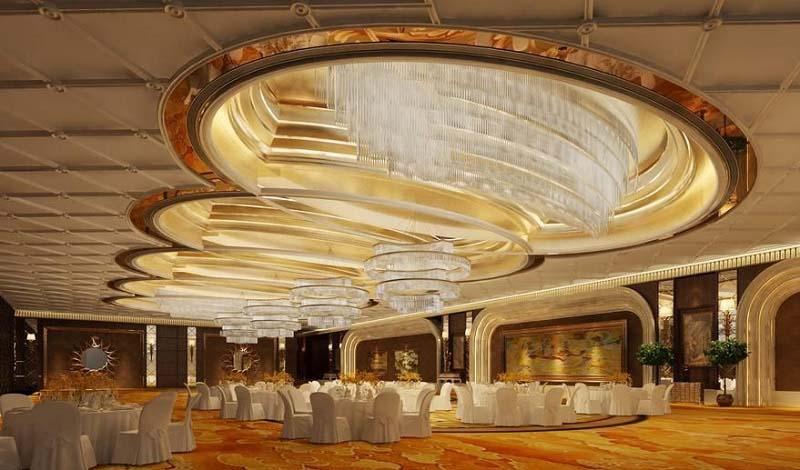 成都酒店装修之酒店灯具种类