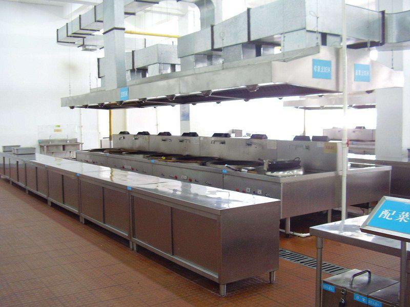 酒店餐厅厨房规划与布局