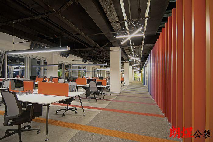成都办公室装修-多彩办公室装修案例