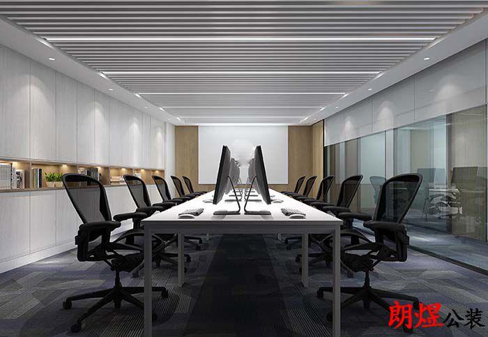 成都金融办公室装修案例