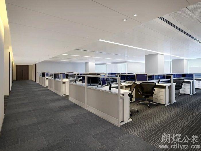 成都现代风格办公室怎么装修设计才好看