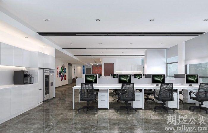 成都现代风格办公室装修