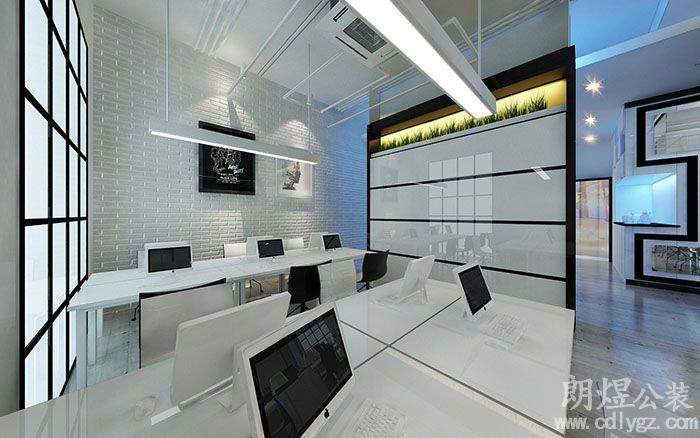 办公室办公区域装修效果