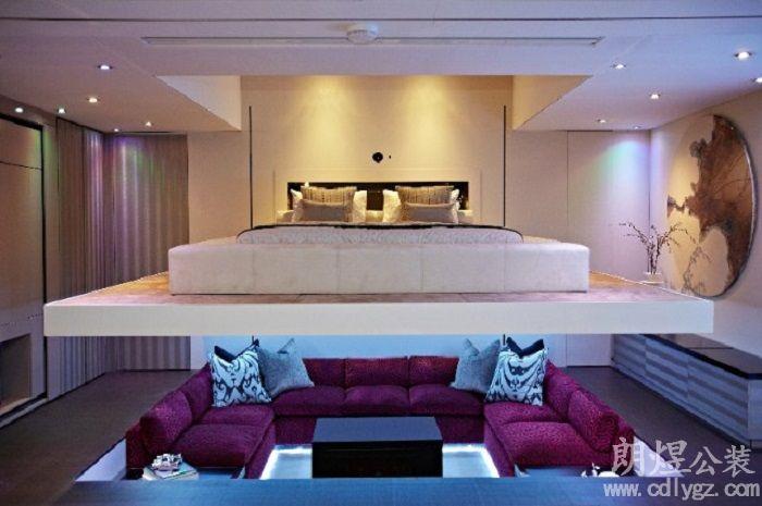 创意酒店房间装修效果