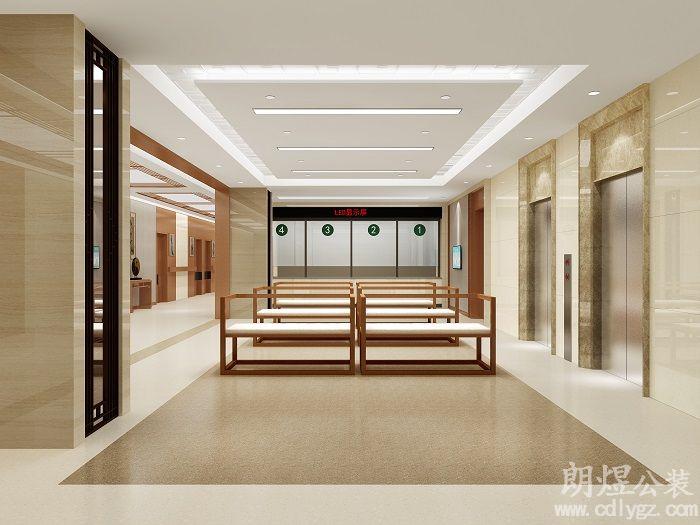 成都龙泉驿龙华社区卫生服务中心效果图