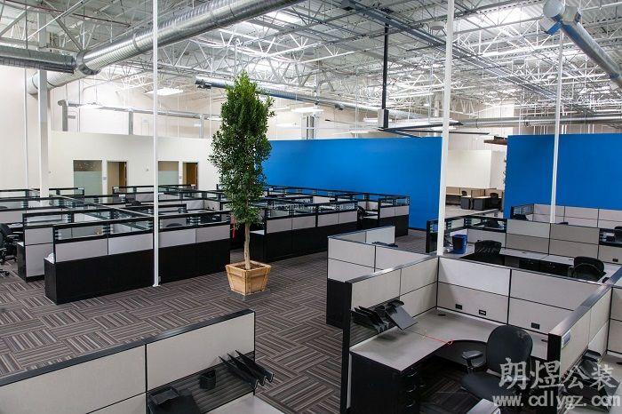 欧美风格办公室装修效果